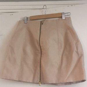 Dara woman medium mini skirt full zipper